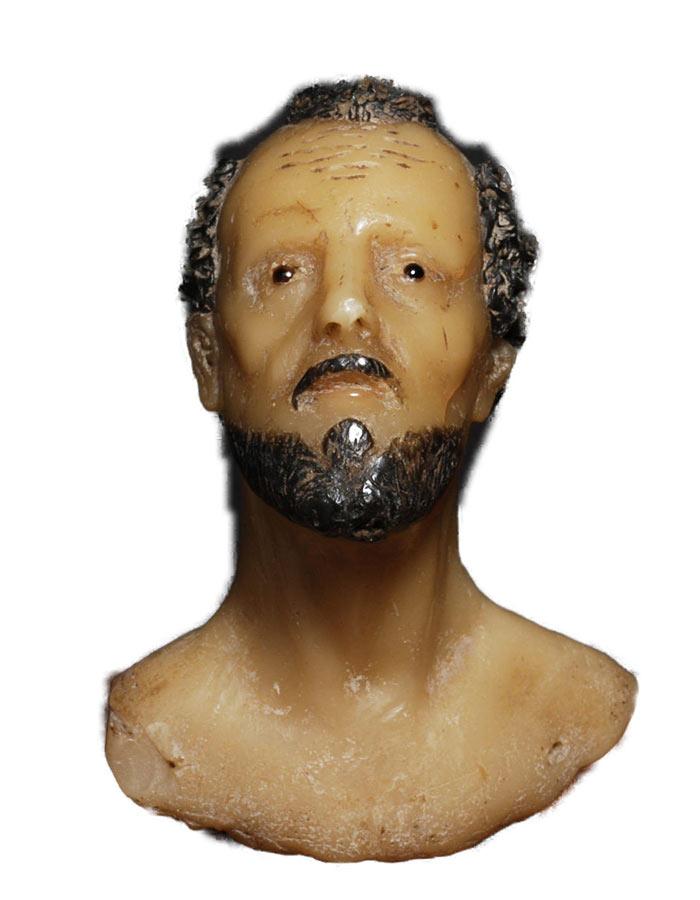 Giovanni Bernardino Azzolino opera scultura in cera