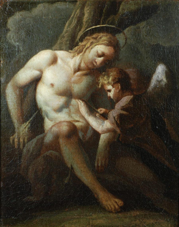 dipinto Carlo Bononi Ferrara San Sebastiano