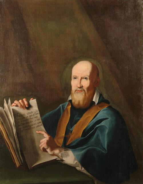 Dipinto di Giuseppe Antonio Petrini Carona San Francesco di Sales olio su tela