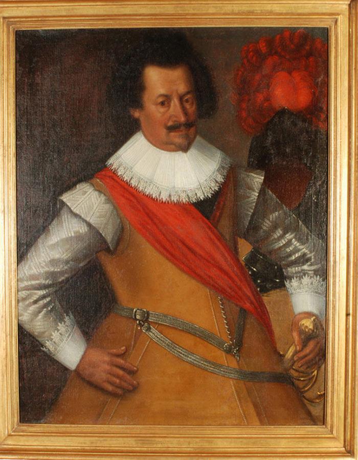 Dipinto di Carlo Francesco Nuvolone Ritratto di gentiluomo Olio su tela