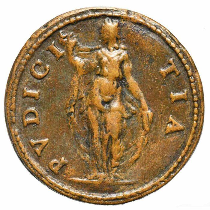 Medaglia in bronzo di Girolama Colonna
